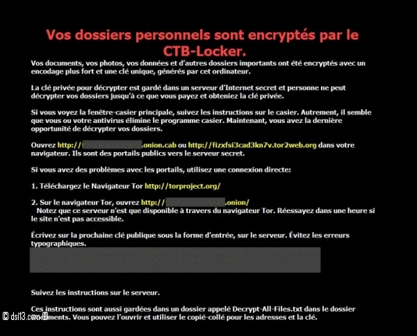 CBT Locker ou Crypto Locker